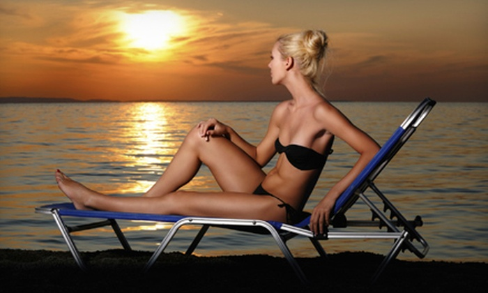 Tropical Beaches Tanning Salon - Kelowna: One or Three Spray Tans at Tropical Beaches Tanning Salon (Up to 51% Off)