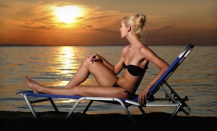 1 Full-Body Spray Tan (a $37 value) - Tropical Beaches Tanning Salon in Kelowna