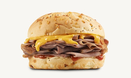 Chicken or Roast Beef Sandwich Meal for Two or Four at Arby's (Up to 44% Off)
