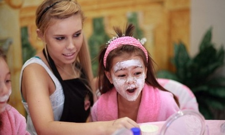 Onsite or Mobile Kids' Spa Package from Diamond Girlz Salon and Spa (Up to 61% Off). Four Options Available.