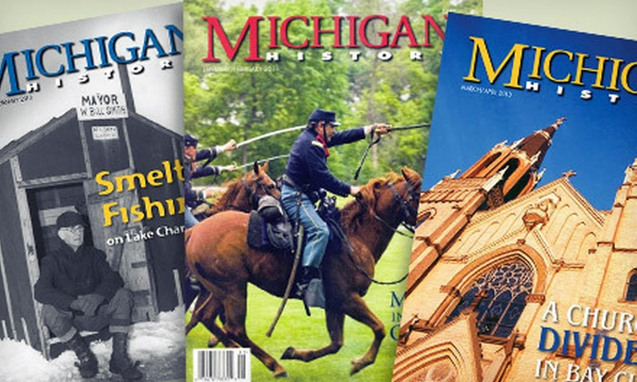 """Michigan History"" Magazine - Southside: $9 for One-Year Subscription to ""Michigan History"" Magazine ($19.95 Value)"