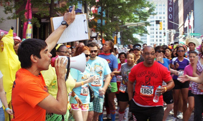 Gorilla Challenge - Downtown - Penn Quarter - Chinatown: Gorilla Challenge Urban-Adventure Race for One or Two on Saturday, July 21 (Up to 71% Off)