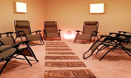 One or Three Salt-Therapy Sessions at The Salt Vault (Up to 51% Off)