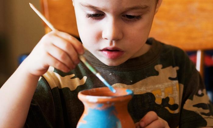Paint-a-Treasure Ceramics - Paint-a-Treasure Art Studio: BYOB Pottery Painting at Paint-a-Treasure Ceramics (Up to 58% Off). Three Options Available.