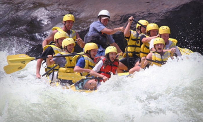 River Expeditions - Oak Hill: $69 for One-Day Rafting, Two-Night Camping Trip on the New River from River Expeditions in Oak Hill (Up to $132 Value)