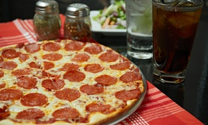 Pizza D'Light: $18 for a Pizza Meal for Two at Pizza D'Light ($31.98 Value)