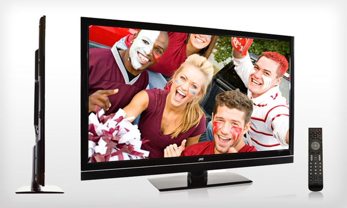 "JVC 42"" BlackCrystal LED 120 Hz HDTV: $499 for a JVC 42"" BlackCrystal LED 120Hz Series 1080p HDTV ($846.59 List Price). Free Shipping and Free Returns."