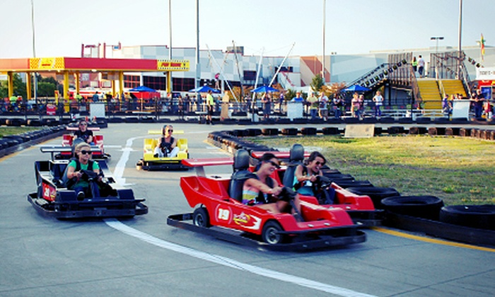 The Speedpark at Concord Mills - The Speedpark at Concord Mills: Unlimited Go-Kart Rides and Attractions with Optional Fast Pass at The Speedpark at Concord Mills (Up to 57% Off)
