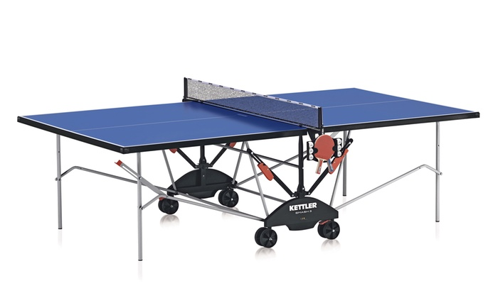Table ping pong kettler groupon Dimensions d une table de ping pong