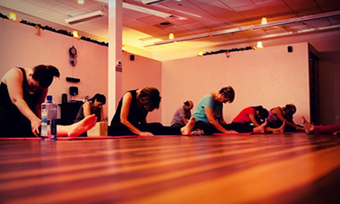 Barefoot Studio - Shops At Thornydale: 10 or 15 Yoga Classes or 10 Yoga Classes with a 60-Minute Swedish Massage at Barefoot Studio (Up to 66% Off)