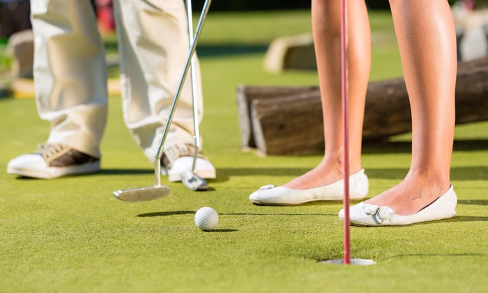 Norton Mini Golf And Ice Cream - Boston: A Round of Miniature Golf at Norton Mini Golf and Ice Cream (50% Off)