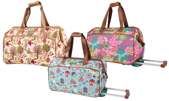 0664f45aad Up To 63% Off on Lily Bloom Duffel Carry-On