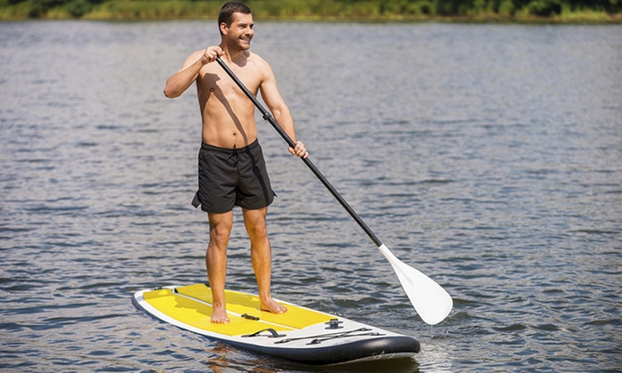 PSP SUP Specialists - Multiple Locations: Stand-Up-Paddleboard Class for One, Two, or Three with Equipment from PSP SUP Specialists (Up to 61% Off)