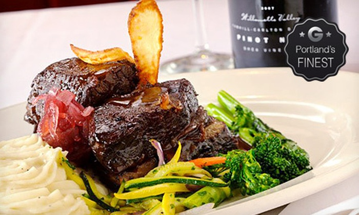 Portland Prime - Downtown Portland: $30 for $60 Worth of Steak-House Dinner Fare and Drinks at Portland Prime