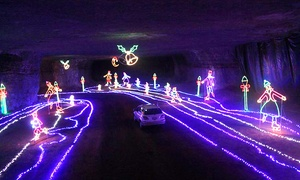 Louisville Mega Cavern: $16 for an Underground Christmas Light Show at Louisville Mega Cavern ($25 Value)