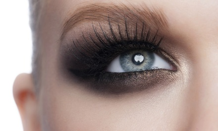 Set of Synthetic Mink Eyelash Extensions with Option for One Fill at The Glamour Bar (Up to 52% Off)