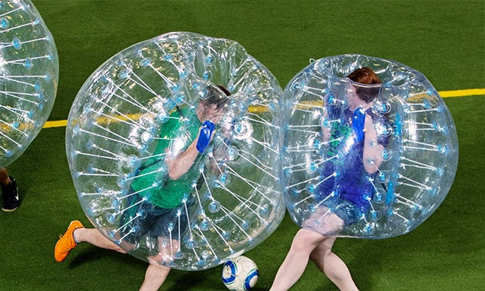 Bubble Soccer - Ganesh Business Park: Bubble Soccer Game from Knockerball Orlando-Bubble Soccer (Up to 45% Off)
