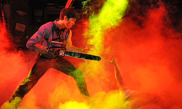 """""""Evil Dead The Musical"""" - Avenue of the Arts South: """"Evil Dead: The Musical"""" at Prince Music Theater on October 18–20 (Up to 40% Off)"""