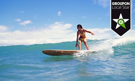 Bautismo de surf para dos personas en la playa de El Médano por 24,90 €