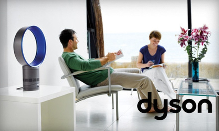 Dyson Air Multiplier Table Fan: $169 for a Dyson Air Multiplier Bladeless Table Fan in Blue or White ($299.99 List Price). Free Shipping.