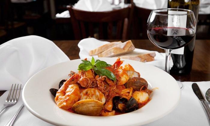 Il Giardino Ristorante - Oceanfront: $30 for $50 Worth of Italian Cuisine at Il Giardino Ristorante
