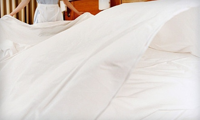Mattress Warehouse of Tampa Bay - Brandon: $49 for an Egyptian Cotton Four-Piece Queen- or King-Size Sheet Set from Mattress Warehouse of Tampa Bay ($129 Value)
