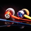 BassBuds Earbuds with Swarovski Elements withMic and Remote