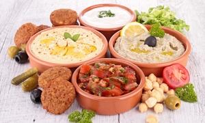 Arabesk: Libanesische Mezze-Variation für 2 oder 4 Personen im Restaurant Arabesk (bis zu 54% sparen*)