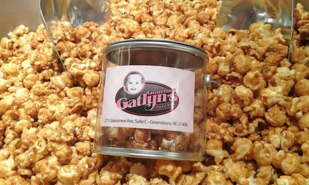 6- or 10-Visit Punch Card or One Two-Gallon Create-A-Tin at Gourmet Gatlyn's Popcorn (Up to 50% Off)