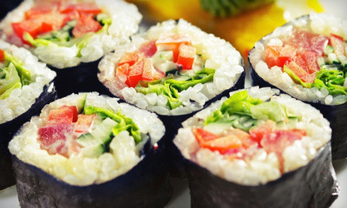 Taka's Sushi - Fair Oaks: Japanese Cuisine at Taka's Sushi (Half Off). Two Options Available.