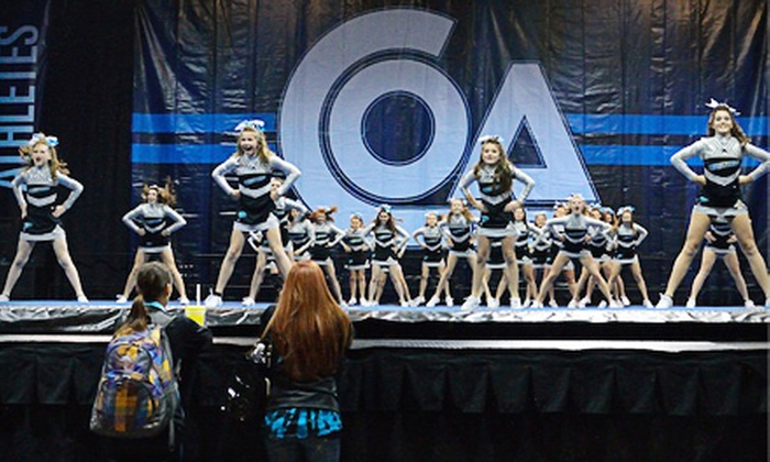 Tumble Athletics - Cleveland: Four or Eight Weekly Youth Cheerleading or Tumbling Classes at Tumble Athletics (Up to 58% Off)