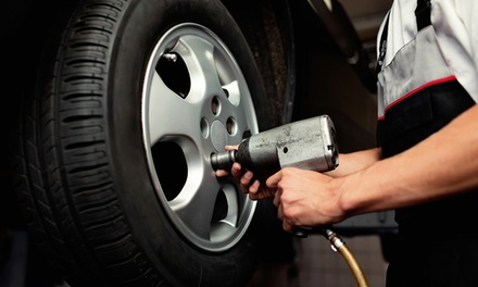 Brake Pad Replacement for Front or Rear, or Both at Meineke Car Care Center (Up to 26% Off)