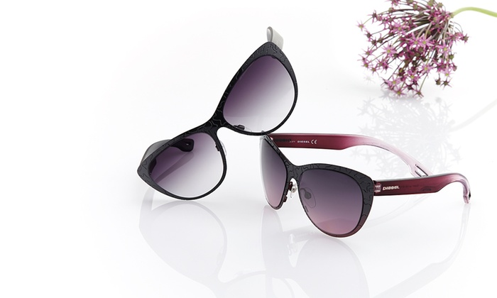 Diesel: $59.99 for Diesel Women's Sunglasses ($175 List Price). Multiple Styles Available. Free Shipping and Returns.