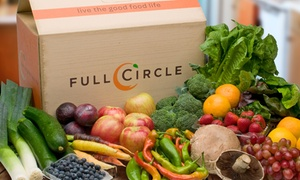Full Circle: Up to 60% Off Organic Produce for Delivery from Full Circle