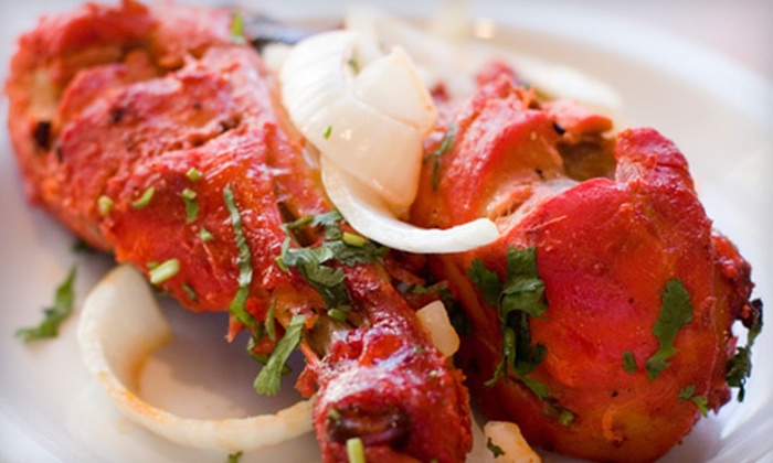 Shalimar Tandoor Grill and Bar - Fayetteville: $10 for $20 Worth of Indian Dinner Fare at Shalimar Tandoor Grill and Bar in Fayetteville
