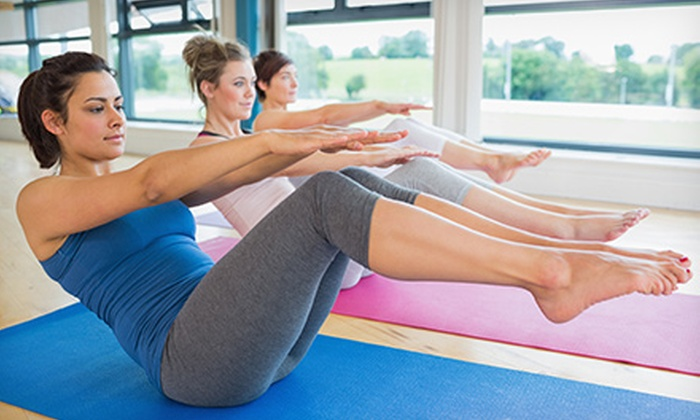 Esquea Yoga Therapy & Fitness - Cranston: $67 for $150 Toward Ten Yoga Classes at Esquea Yoga Therapy & Fitness