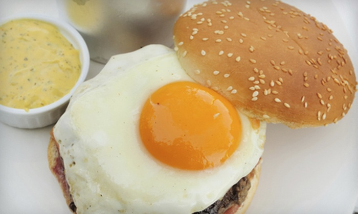 Soho Burger Bar - Central Business District: Burger Dinner with Drinks and Shared Sides for Two or Four at Soho Burger Bar (Up to 51% Off)