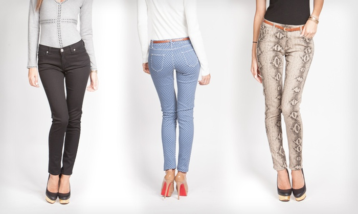 Yuka Paris Women's Jeans: $29.99 for a Pair of Yuka Paris Women's Jeans ($189 List Price). Multiple Colors and Sizes Available. Free Shipping.