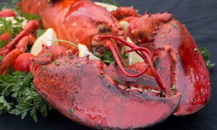 Up to 50% off Seafood and Cajun Cuisine at The Crazy Lobster