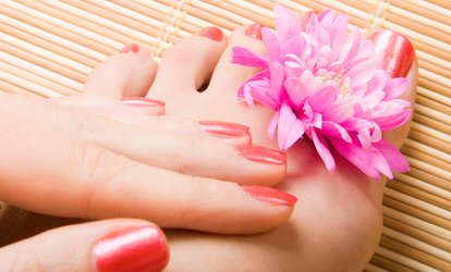 image for One or Three Mani-Pedis at Health and Style Institute (Up to 62% Off)