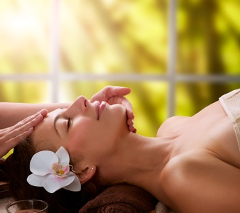 One-Hour Hot-Stone Massage or Two- or Three-Hour Spa Package with Gift Bag at Transcend (Up to 55% Off)