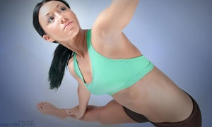 Yoga4Yu: One Month of Unlimited Classes or 8 or 12 Drop-in Classes at Yoga4Yu (Up to 74% Off)