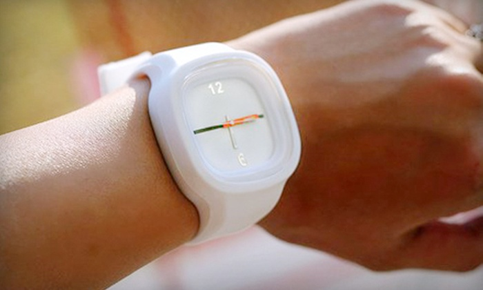 Tikkr: $36 for Wristwatch and Two Extra Bands from Tikkr (Up to $105 Value)