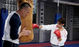 Pro Boxing Fitness: One Month of Unlimited Boxing Classes with Enrollment Fee at Pro Boxing Fitness (73% Off)