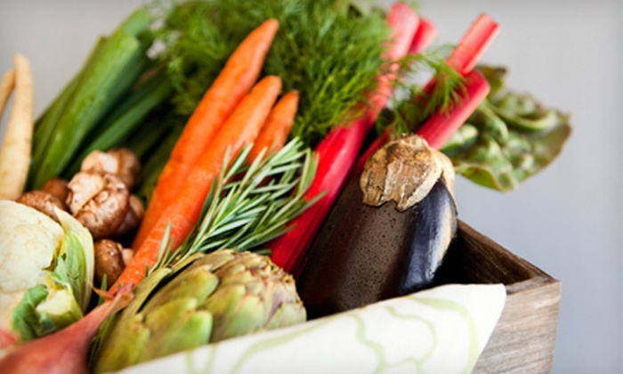 Yummy Farms - Austin: One or Two Months of Organic-Produce Delivery from Yummy Farms (Up to 56% Off)