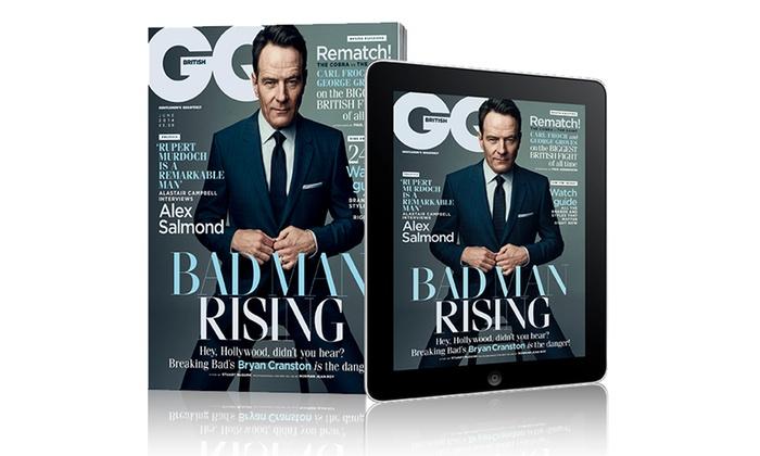 12-Month GQ Magazine Subscription