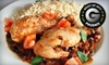 Havana Café  - Multiple Locations: Lunch, Dinner, or a Package with Two Appetizers and Four Drinks at Havana Café (Up to 53% Off)