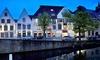 Au cœur de Bruges : chambre double 4* avec petit-déjeuner et bien-être