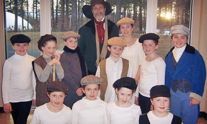"""""""Oliver!"""" - Hingham: $26 for Two Tickets to Oliver! at the Hingham Civic Music Theatre (Up to $43.38 Value)"""