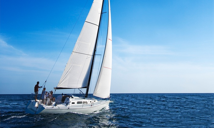 Charleston Sail - Charleston: $145 for a Three-Hour Harbor Tour with Lunch for Up to Four from Charleston Sail ($290 Value)